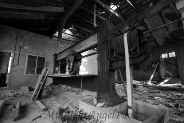 Inside the Abandoned Factory