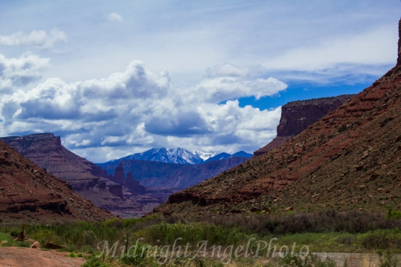 View from the Colorado River Canyon