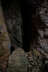 Mouth of the Cave of the 99 Holy Fathers