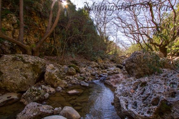 Hiking Down Diktamos Gorge