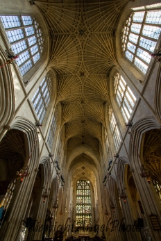 The Ceiling of the Bath Abbey