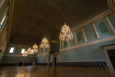 The Ball Room at the Bath Assembly Rooms