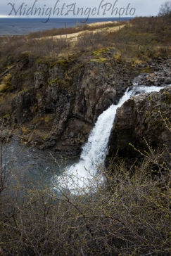 One of the falls below Svartifoss