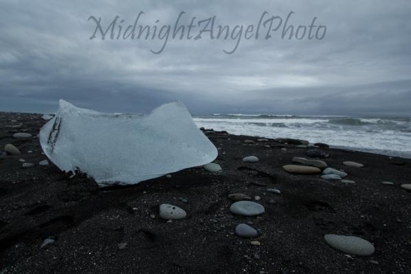 Icebergs on the Atlantic