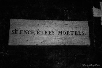 Silence, mortals