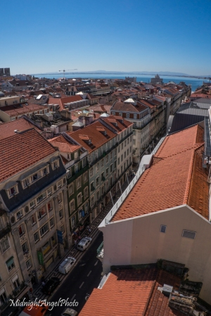 Lisbon, from the Santa Justa Lift