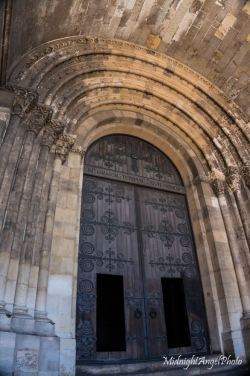 Entrance to the Lisbon Cathedral
