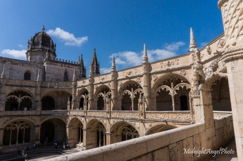 The cloisters of the Mosteiro dos Jeronimos