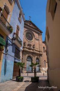 Wandering the streets of Valencia, Spain
