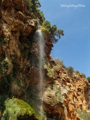 Waterfall at Paraje Natural del Salto de la Novia