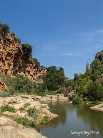 The swimming pool at Paraje Natural del Salto de la Novia