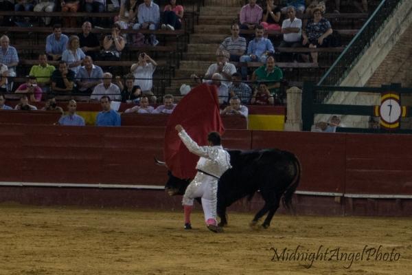 A matador during the Tercio de Muerte