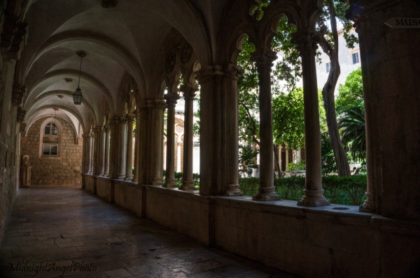 The Cloisters of the Dominican Monastery