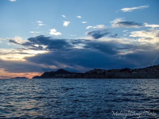 Sunset over Dubrovnik
