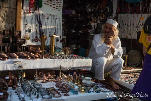Old man in the markets of Mostar