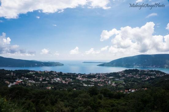 Overlooking Herceg Novi, Montenegro