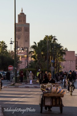 Wandering around Marrakesh, Morocco