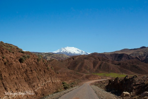 Driving Through the Atlas Mountains of Morocco