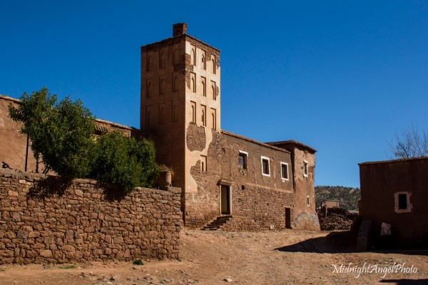 The mosque of the Kasbah Telouet