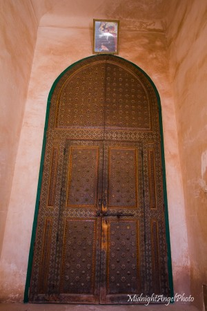 The door to the inner living area