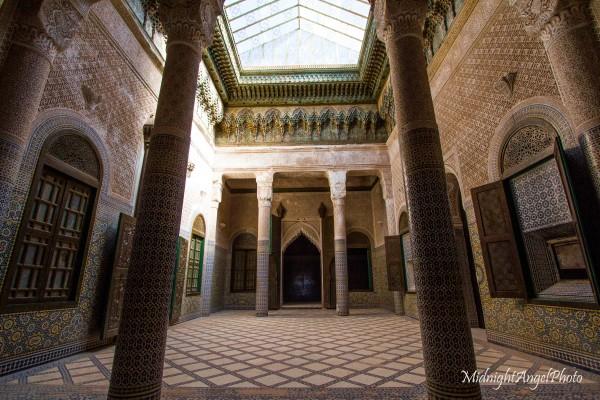 Inside the Kasbah Telouet