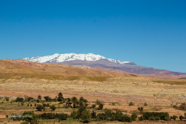 The Atlas Mountains near Aït Benhaddou