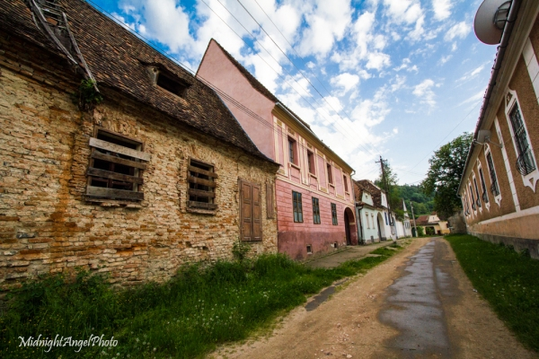 Wandering around Biertan, Romania