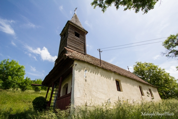 A little rural church in Boiu