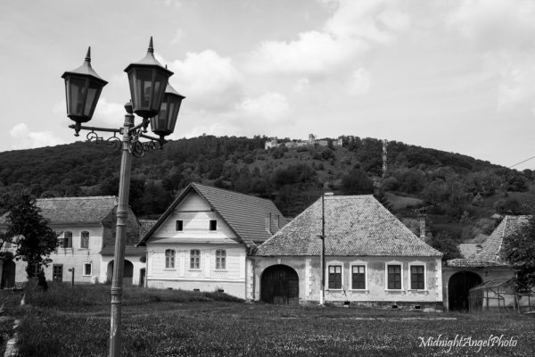 The old castle/fortress over Saschiz