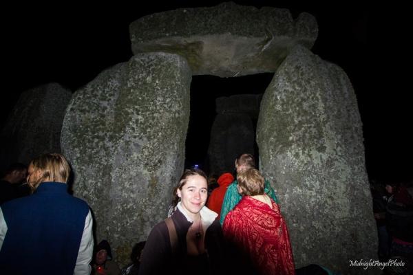 At Stonehenge!
