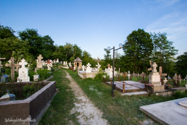The Cemetery at the Biserica Valea Danului