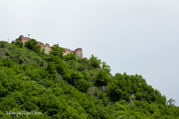 Poenari Castle (A bit closer up)