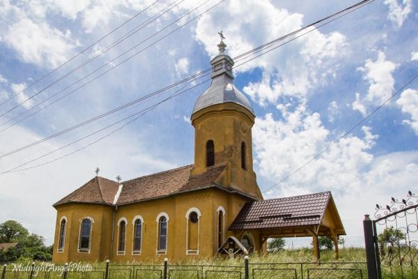 A random little countryside church in Romania