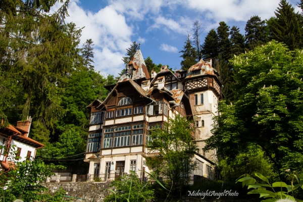 An old home in Sinaia, Romania
