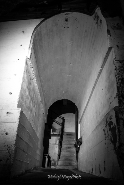 Ghosting in the tunnels of the old World War II complex, Vedafjell