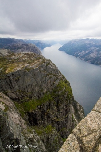 The Lysefjord from Pulpit Rock