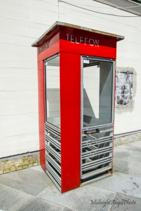 A neat telephone booth back in Stavanger