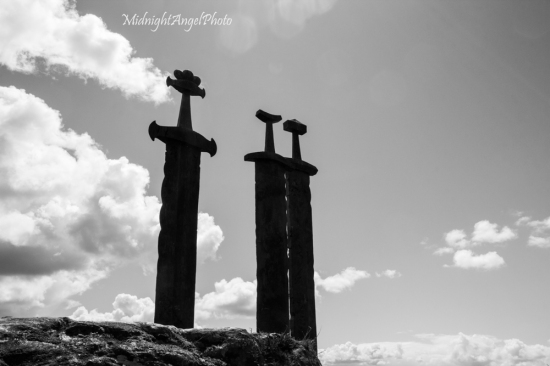 The swords in stone monument