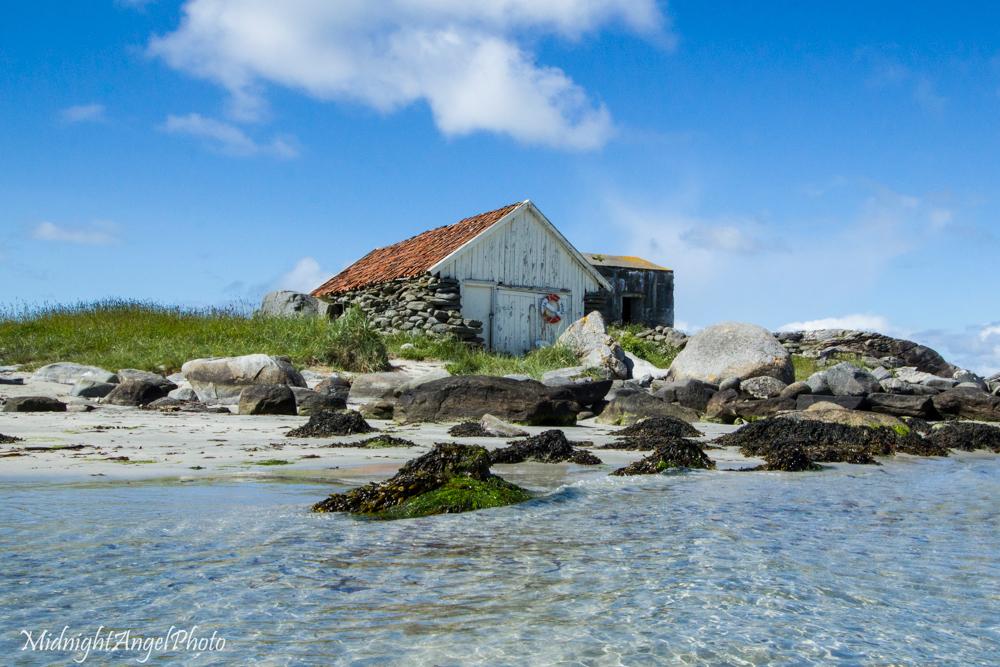A little beach in Sola, Norway