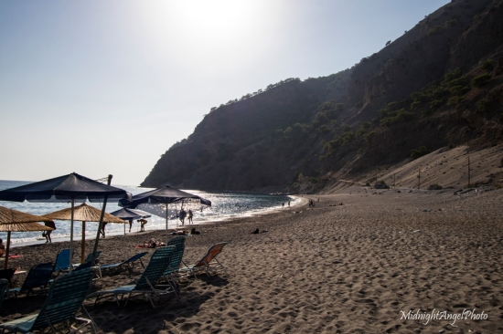 The Beach at Agia Roumeli